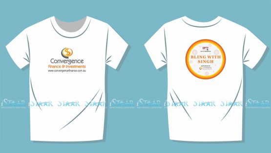 T-Shirts Design - Convergence Finance
