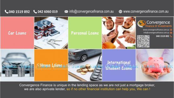 Facebook Banner - Convergence Finance